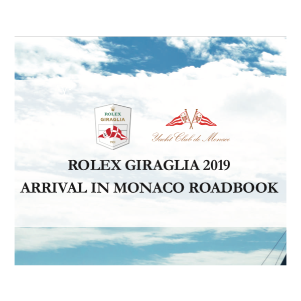 Arrival Monaco - Roadbook